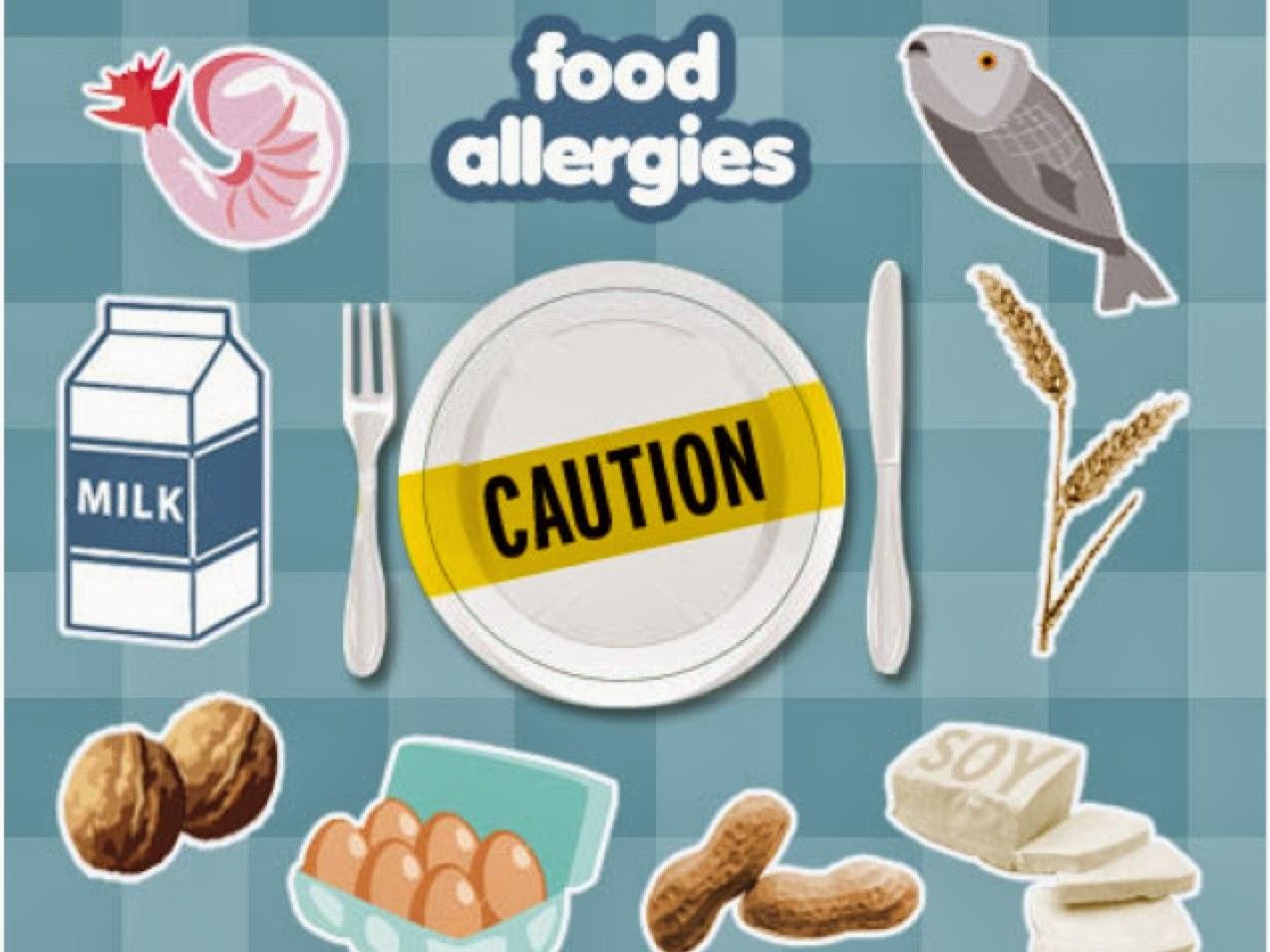 Όταν οι τροφές προκαλούν αλλεργία