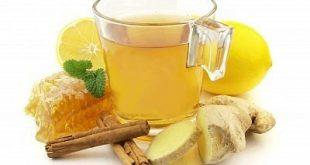 Ρόφημα από τζίντζερ (πιπερόριζα) με λεμόνι και κανέλα για το στομάχι, αποτοξίνωση και απώλεια βάρους