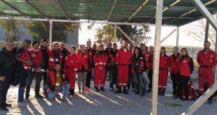 Καταγραφή φιλοξενούμενων πληθυσμών στο Κέντρο Μετεγκατάστασης Προσφύγων στο Κορδελιό Θεσσαλονίκης
