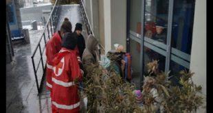 Δράση Streetwork από τους Εθελοντές του Περιφερειακού Τμήματος Ε.Ε.Σ. Θεσσαλονίκης για την προστασία των αστέγων ενόψει της νέας επιδείνωσης του καιρού