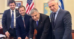 Σύμφωνο συνεργασίας για την ενίσχυση του Τουρισμού Υγείας στην Ελλάδα υπέγραψε, στη Νέα Υόρκη, ο Πρόεδρος του ΙΣΑ και της ΚΕΔΕ Γ. Πατούλης με την Ομοσπονδία Ελληνικών Σωματείων Μείζονος Ν. Υόρκης