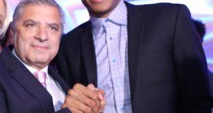 Στην τιμητική βράβευση του αθλητή Γιάννη Αντετοκούνμπο στη Νέα Υόρκη, ο Πρόεδρος του ΙΣΑ και της ΚΕΔΕ Γ. Πατούλης
