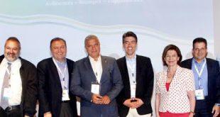 """Λήξη 13ου Πανελληνίου Συνεδρίου του Ελληνικού Διαδημοτικού Δικτύου με θέμα: """" Υγιείς Πόλεις: Ανθεκτικές-Βιώσιμες-Συμμετοχικές"""", με την υποστήριξη του ΙΣΑ και της ΚΕΔΕ"""