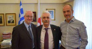Συνάντηση του Προέδρου του Ελληνικού Ερυθρού Σταυρού με τον Επικεφαλής των Ευρωπαϊκών Επιχειρήσεων της IFRC για το μεταναστευτικό