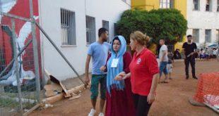 Διαρκής η κινητοποίηση του Περιφερειακού Τμήματος Ε.Ε.Σ. Καλαμάτας για την υποδοχή και φροντίδα μεταναστών