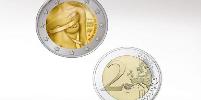 Συλλεκτικό κέρμα στη μάχη κατά του καρκίνου του μαστού