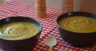 Βελουτέ σούπα πατάτα- σελινόριζα με λάδι μαύρης τρούφας (έτοιμη σε 10 λεπτά)