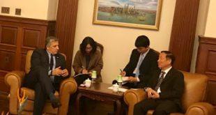 Σειρά επαφών του Προέδρου του ΙΣΑ Γ. Πατούλη με αυτοδιοικητικούς και επιστημονικούς φορείς στη Σανγκάη