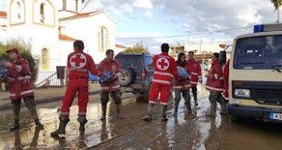 Συμμετοχή στις προσπάθειες αντιμετώπισης των καταστροφών από τις πλημμύρες στην περιοχή του Αγρινίου