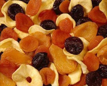 αποξηραμένα φρούτα