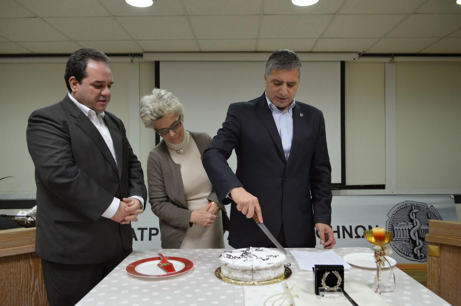 Το Ιατρείο Κοινωνικής Αποστολής έκοψε την πίτα του γιορτάζοντας τρία χρόνια προσφοράς στον συνάνθρωπο