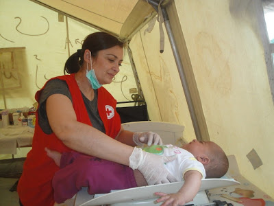 Δράσεις Νοσηλευτικής Υπηρεσίας Π.Τ. Ε.Ε.Σ. Ιωαννίνων στο Κέντρο υποδοχής προσφύγων