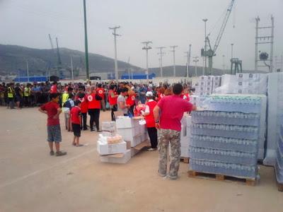 Ο Ελληνικός Ερυθρός Σταυρός διένειμε μεγάλη ποσότητα ανθρωπιστικής βοήθειας στο Τοπικό Κέντρο Διαχείρισης Προσφύγων Σκαραμαγκά