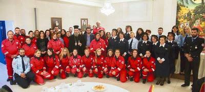 Συμμετοχή Τοπικού Τμήματος Ε.Ε.Σ. Κισσάμου στην υγειονομική κάλυψη της Οικουμενικής Συνόδου στο Κολυμβάρι Χανίων