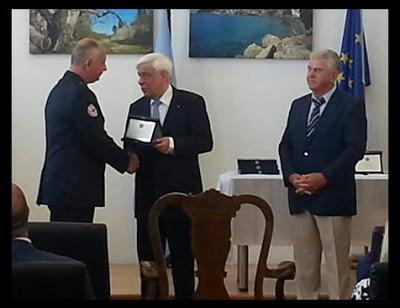 Βράβευση Αρχηγού Σαμαρειτών Τοπικού Τμήματος Ε.Ε.Σ. Χαλκίδας