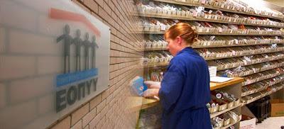 Προχωρά η εξόφληση των χρεών του ΕΟΠΥΥ προς τις επιχειρήσεις φαρμάκου