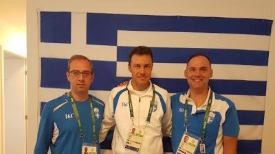 Το ιατρικό επιτελείο, της Ολυμπιακής μας αποστολής, στο Ρίο
