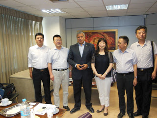 Τον ΙΣΑ επισκέφθηκε αντιπροσωπεία του Κινέζικου Οργανισμού Τροφίμων και Φαρμάκων, με στόχο την ανταλλαγή τεχνογνωσίας