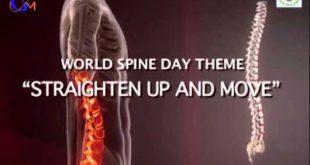 Παγκόσμια Ημέρα Σπονδυλικής Στήλης. Οι πόνοι της μέσης, οι κακώσεις της σπονδυλικής στήλης και η σημασία της σωστής στάσης.