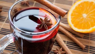 Ζεστό κρασί, για τις κρύες μέρες του χειμώνα, για το κρύωμα, το μπούκωμα, τον βήχα