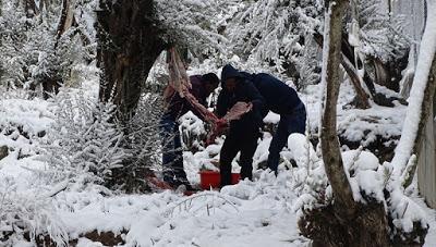 Οι πρόσφυγες κινδυνεύουν από την κακοκαιρία των Βαλκανίων προειδοποιούν ΜΚΟ