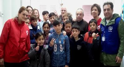 Ατομικό Δελτίο Υγείας Μαθητή στα παιδιά των προσφύγων