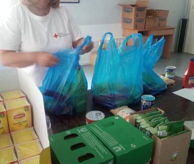 Παραλαβή και διανομή προϊόντων - δωρεάς της εταιρείας UNILEVER από την Κοινωνική Πρόνοια του Περιφερειακού Τμήματος Ελληνικού Ερυθρού Σταυρού Πάτρας