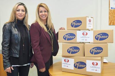 Η Pfizer «προΣfΕΕρει» ελπίδα και χαμόγελα στο Γηροκομείο Ζωσιμάδων Ιωαννίνων
