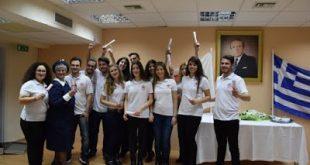 Ορκωμοσία νέων εθελοντών και εθελοντριών Νοσηλευτικής Περιφερειακού Τμήματος Ε.Ε.Σ. Σπάρτης