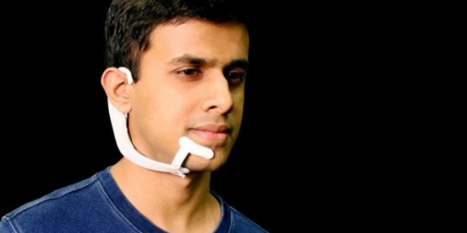 "AlterEgo: Η πρώτη συσκευή που ""διαβάζει"" την εσωτερική φωνή του ανθρώπου"