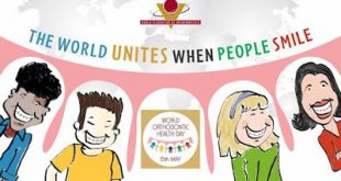 15η Μαΐου: Παγκόσμια Ημέρα Ορθοδοντικής Υγείας