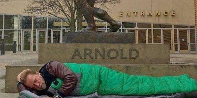 Ο Άρνολντ Σβαρτζενέγκερ κατέληξε «άστεγος»!
